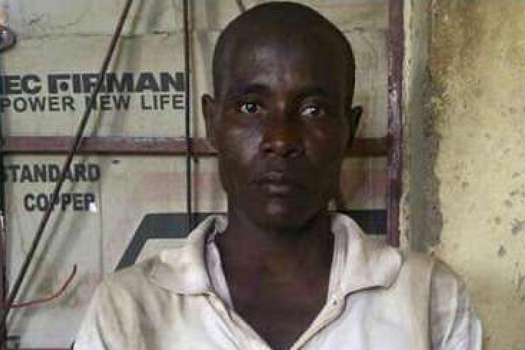 Lelaki yang menurut Amina ialah suaminya, Mohammed Hayatu, dari Mubi di negeri Adamawa. Tentera menyifatkan beliau sebagai suspek pengganas Boko Haram.