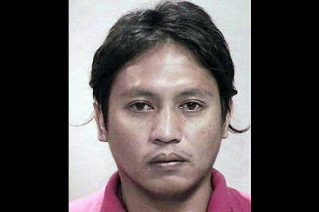 Jabing Khi membunuh seorang pekerja binaan dari China. THE STRAITS TIMES