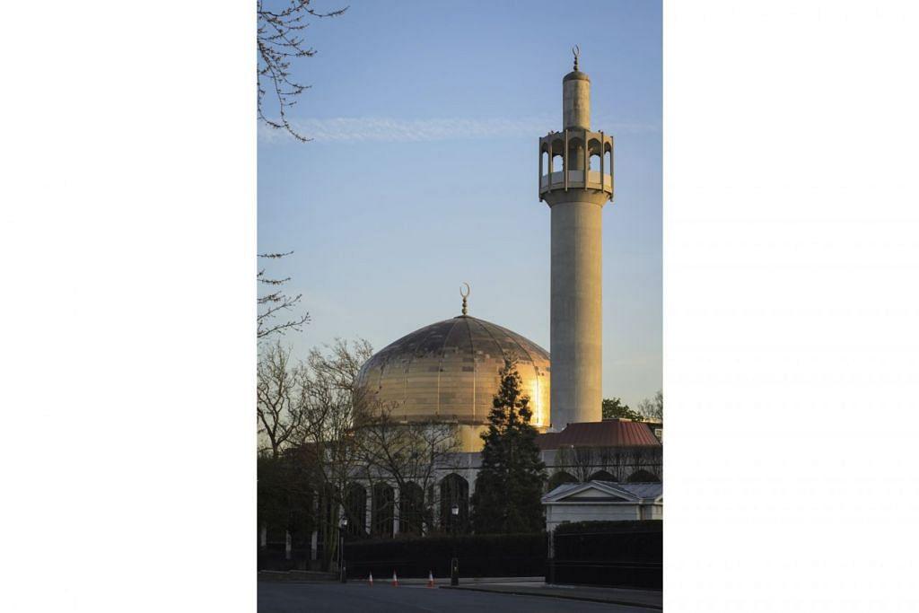 ANTARA TEMPAT LAWATAN: Central Mosque di London. - Foto ISTOCKPHOTO
