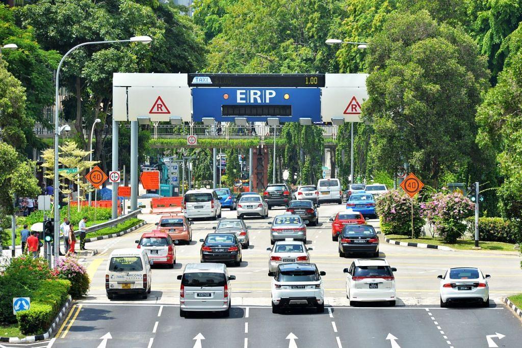 Kadar ERP akan dikurangkan hingga $1 di jalan raya dan ekspreswe terpilih semasa cuti sekolah  Jun.