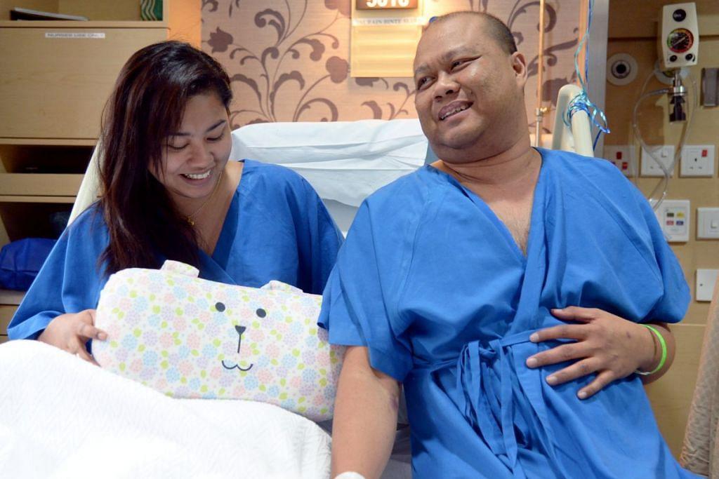 Encik Abdul Hadi Ahmad antara segelintir orang di Singapura yang bernasib baik mendapat ginjal baru apabila anak tirinya, Cik Nurain Sudin, menderma satu organnya itu kepada beliau baru-baru ini.