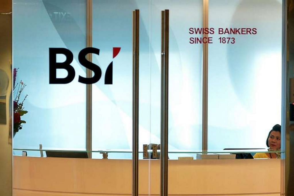 BSI Bank di Suntec City.