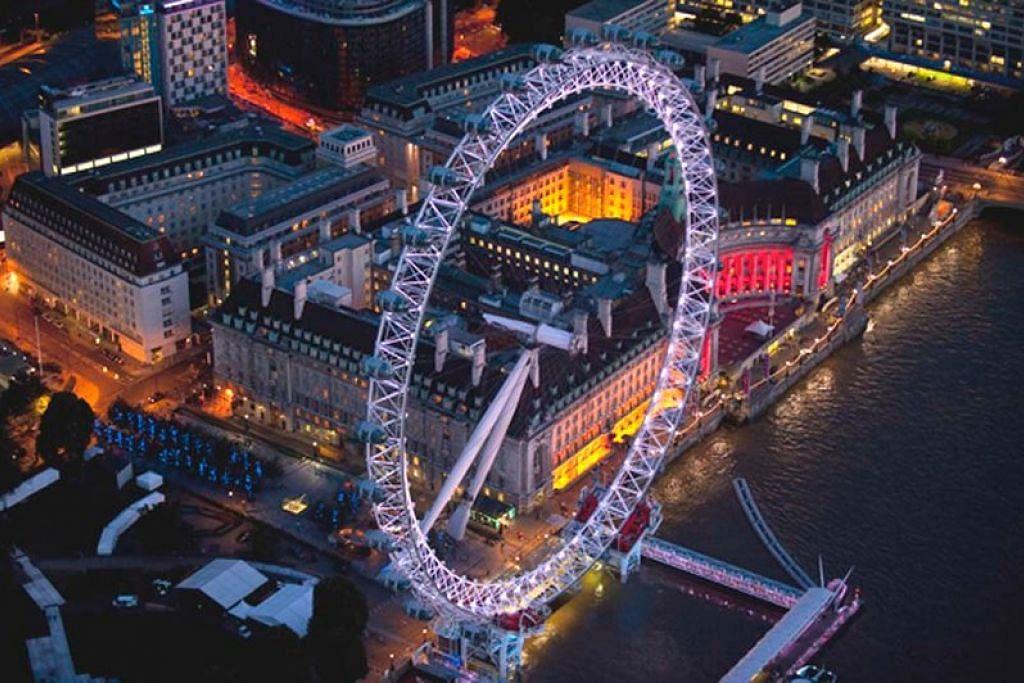 London Eye. - Foto VISITBRITAIN