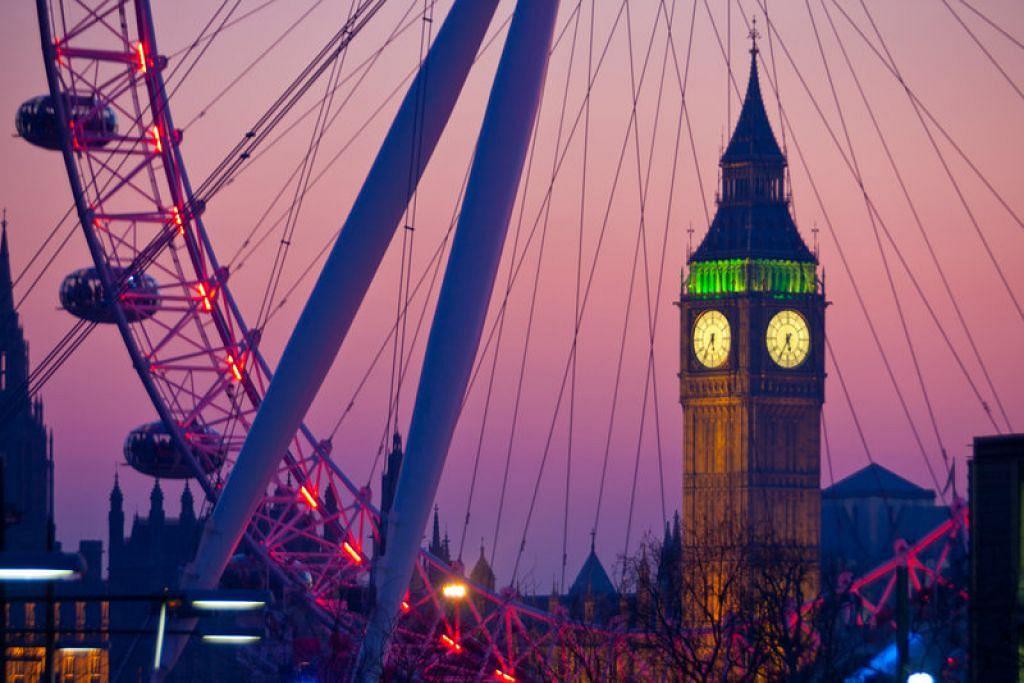 Big Ben dan London Eye. - Foto VISITBRITAIN