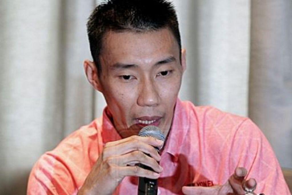 KEKAL UNGGUL: Datuk Lee Chong Wei yakin akan kekal sebagai pemain No. 1 Malaysia dalam tempoh dua tahun lagi jika terus aktif di pentas antarabangsa. - Foto UTUSAN ONLINE