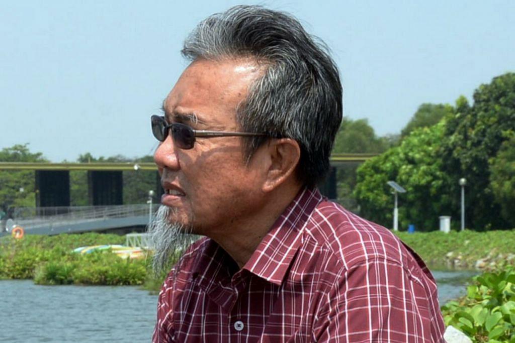 KARYAWAN MAPAN: Inilah enam pengadil bagi projek 'Mencari Kristal'. Mereka ialah Encik Jamal Ismail.
