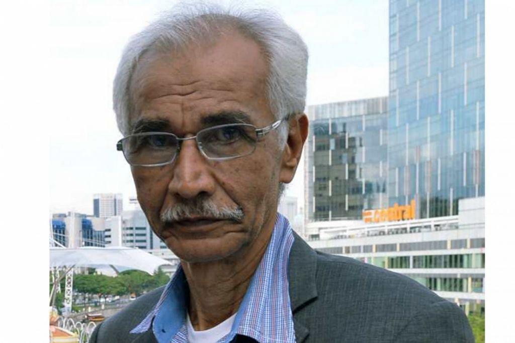 KARYAWAN MAPAN: Inilah enam pengadil bagi projek 'Mencari Kristal'. Mereka ialah Encik Hamed Ismail.
