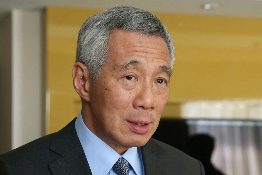 Perdana Menteri Encik Lee Hsien Loong dalam warkah takziah kepada Presiden Barack Obama.