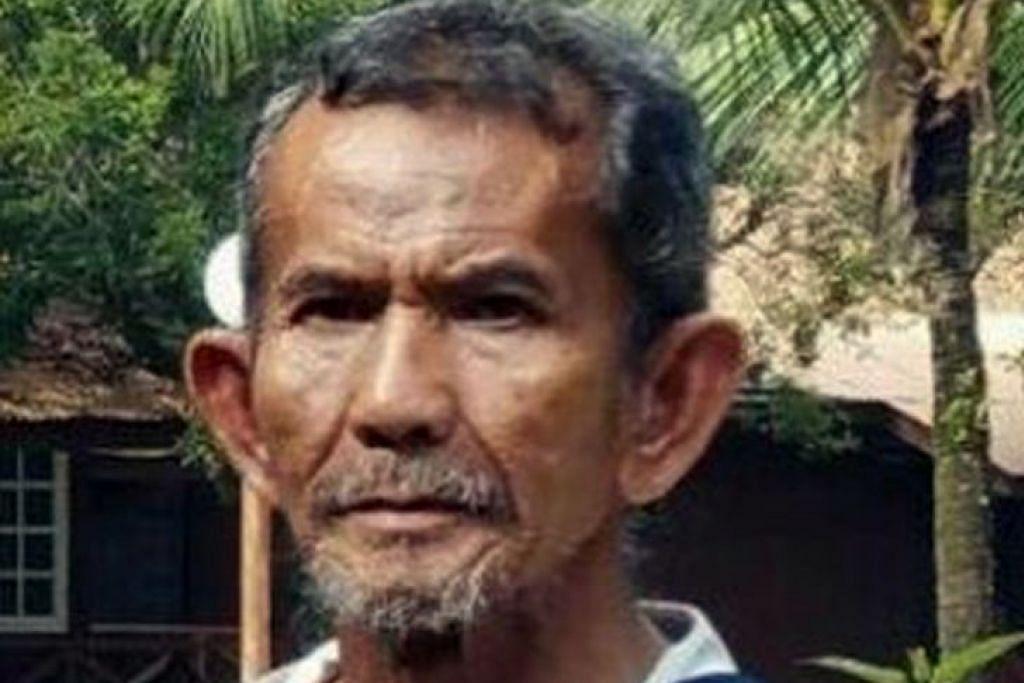 Encik Sinar Widjoyo dipercayai menaiki bas ke Johor Bahru, tempat beliau ditemui, untuk pulang ke Singapura.
