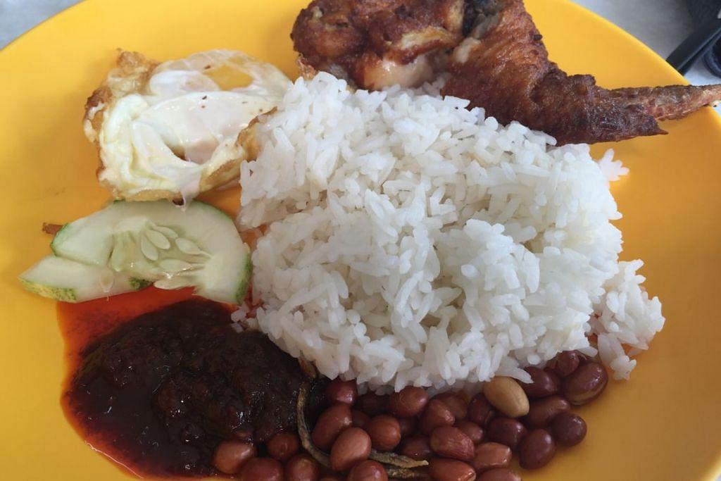 Nasi lemak antara hidangan yang mempunyai GI tinggi