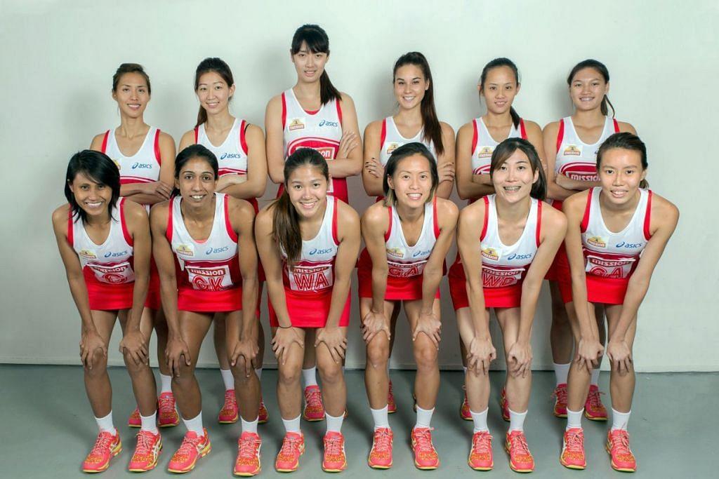 PASUKAN TERBAIK 2016: Pasukan Bola Jaring Sukan SEA ke-28