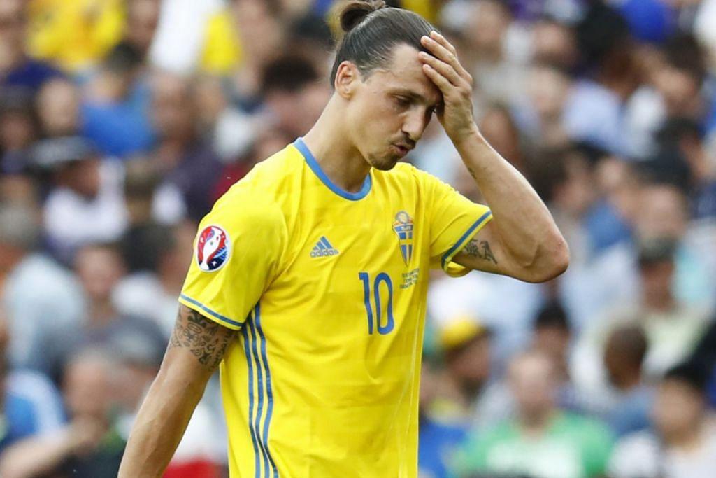 Zlatan Ibrahimovic, 34 tahun.
