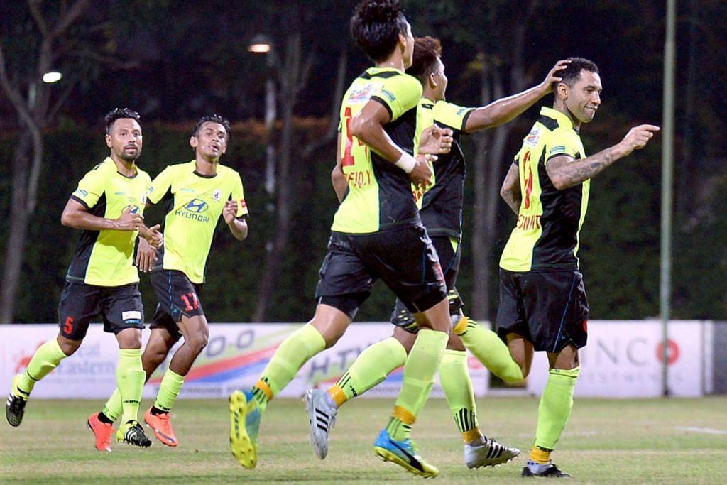 SAINGAN UTAMA: Tampines Rovers dijangka memberi tentangan hebat kepada Albirex Niigata dalam Piala Singapura RHB. - Foto fail