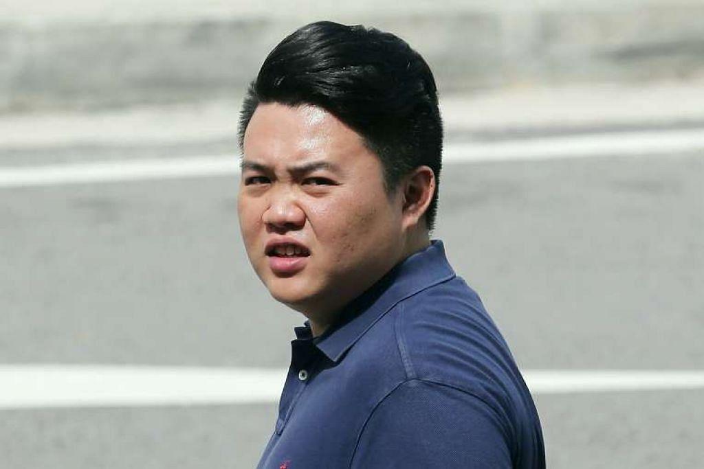 Sherman Lim Chiang Khai cuba menipu seorang warga China agar memberiya $6,000 dengan menyamar sebagai pegawai polis.