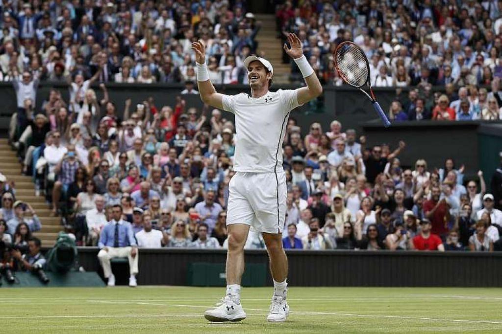 Dengan kejuaraan Wimbledon kedua di dalam tangan, Andy Murray kini mempunyai  tiga mahkota Grand Slam, termasuk Terbuka Amerika Syarikat pada 2012.