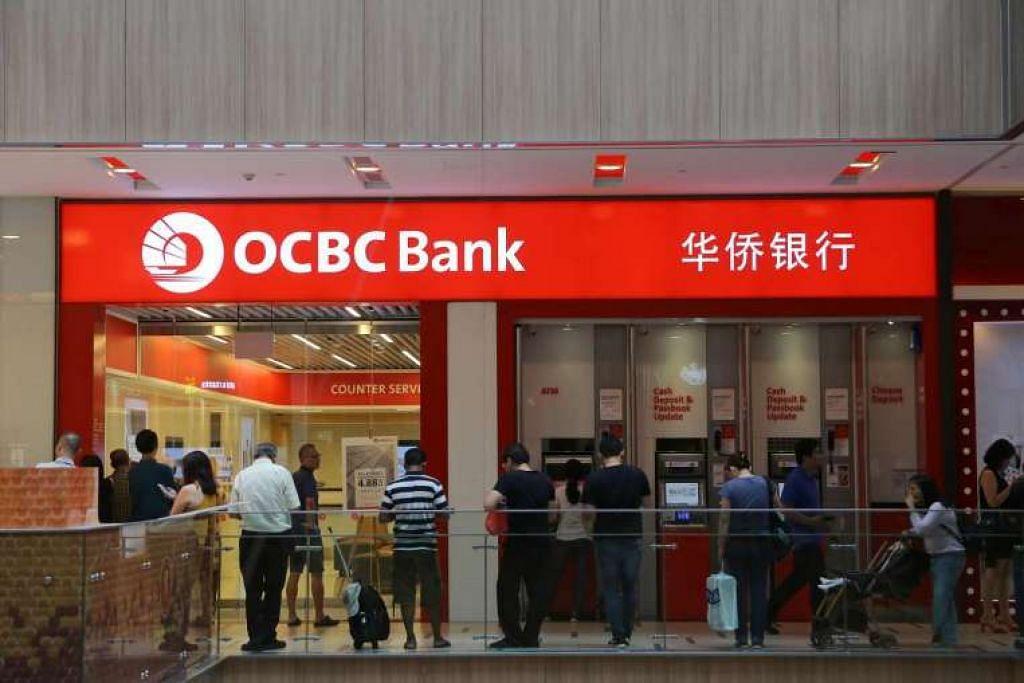 Cawangan OCBC Bank di Paya Lebar Square.