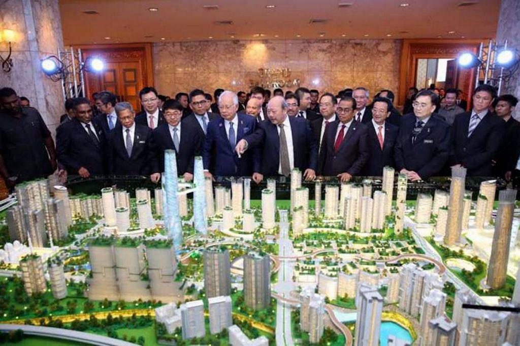 Dua terminal HSR akan terletak di bandar baru Bandar Malaysia di pinggir Kuala Lumpur, dan di Jurong East. GAMBAR IWCH-CREC SDN BHD