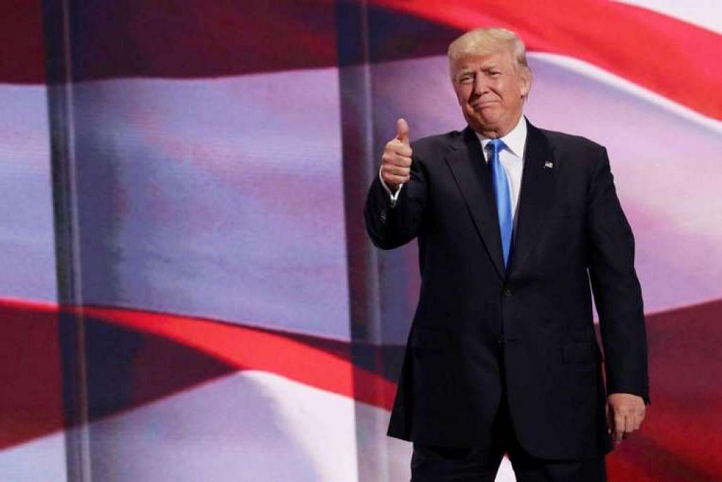 Konvensyen kebangsaan Republikan mengesahkan Encik Donald Trump sebagai calon presiden parti itu bagi pilihan raya pada November.