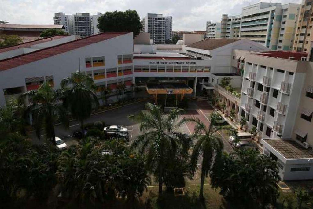 Benjamin Lim menuntut di Sekolah Menengah North View.