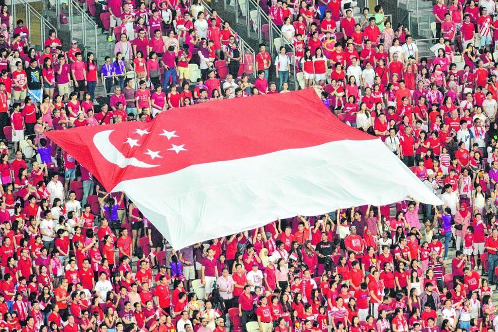 Rakyat Singapura menyambut Hari Kebangsaan pada 9 Ogos lalu.