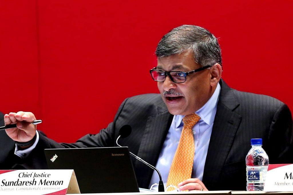 Hakim Besar Sundaresh Menon berkata adalah kewajipan mahkamah yang menjatuhkan hukuman untuk menilai kekuatan pendirian yang diambil pihak pendakwaan, dan pihak pendakwaan pula wajib membentangkan bahan-bahan relevan di depan mahkamah untuk membolehkannya membuat kesimpulan sendiri mengenai apa yang harus menjadi hukuman bagi sesuatu kes.