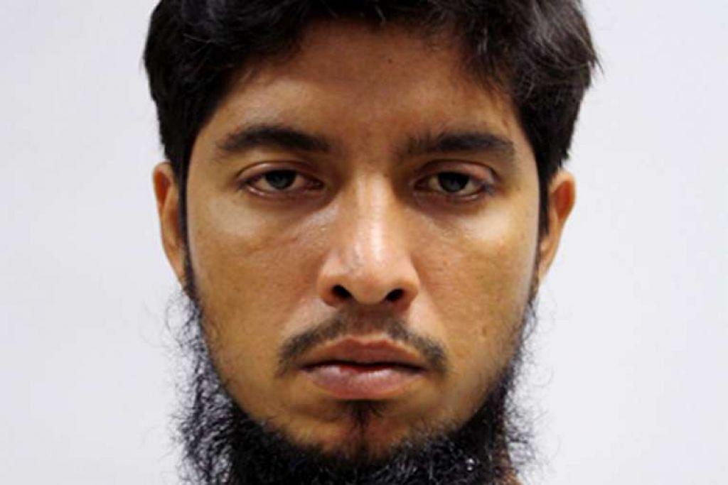 Zzaman Daulat dijatuhi hukuman penjara dua tahun, manakala Mamun Leakot Ali (atas) dijel dua setengah tahun.