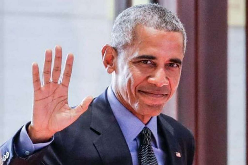 Presiden Amerika Syarikat, Encik Barack Obama, tiba bagi Sidang Puncak Asean-Amerika Syarikat di Pusat Konvensyen Nasional di Vientiane, Laos pada 8 Sep 2016.