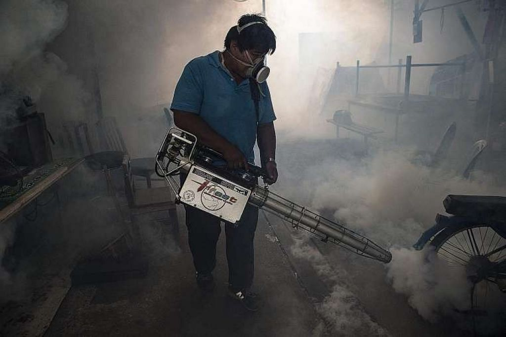 Pengasapan dijalankan sedang Bangkok cuba mengawal penyebaran virus Zika.