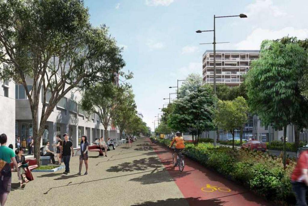 Bencoolen Street akan mendapat nafas baru apabila ia dibuka semula pada suku pertama 2017 berikutan selesainya pembinaan Laluan Downtown 3 di jalan itu. b