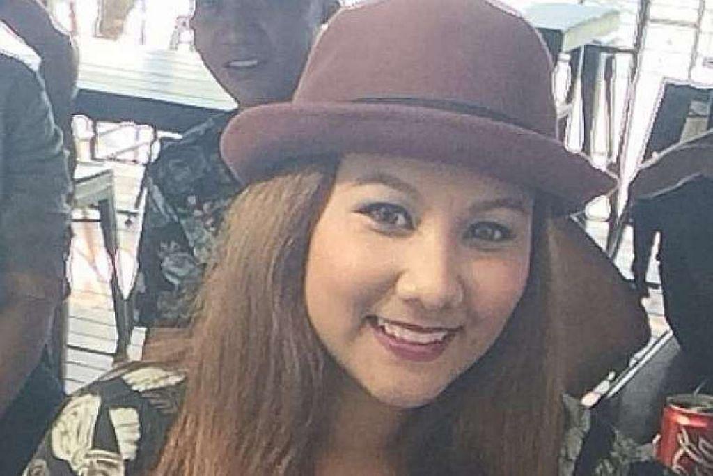 Cik Siti Farina cedera di kaki kanan.
