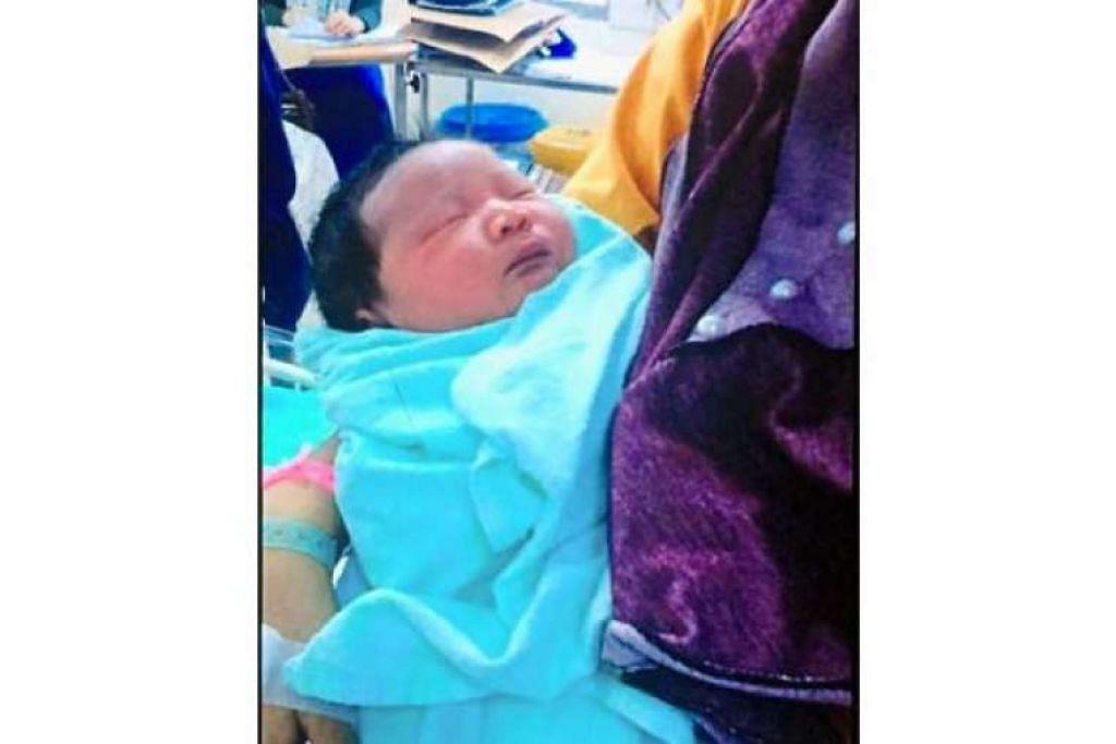 Bayi yang diculik dari Hospital Tanah Merah di Kelantan