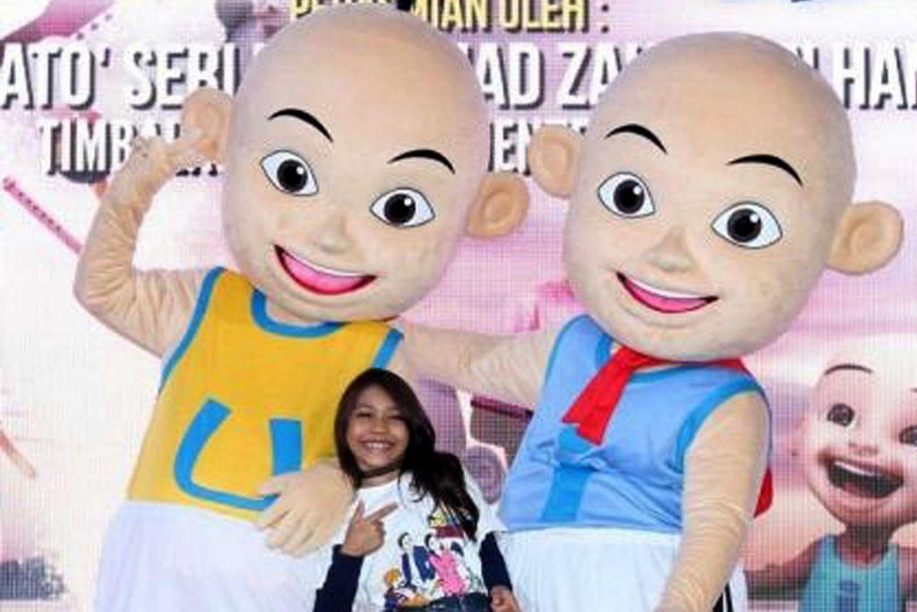 PINJAMKAN SUARA: Watak Aqish dalam filem 'Upin & Ipin Jeng, Jeng, Jeng!' akan dimainkan pelakon kanak-kanak, Puteri Balqis. - Foto MSTAR ONLINE