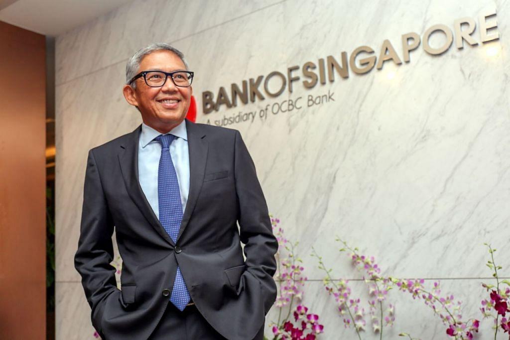 """Ketua Pegawai Eksekutif Bank of Singapore, Encik Bahren Shaari, berkata Barclays berkata pelanggan mereka """"lebih daripada yakin pada keupayaan dan kecekapan Bank of Singapore""""."""