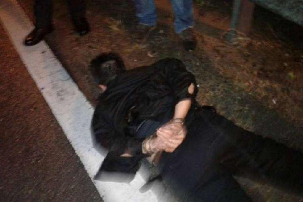Pengawal peribadi yang disyaki menembak bosnya dan dua orang lain ditangkap.