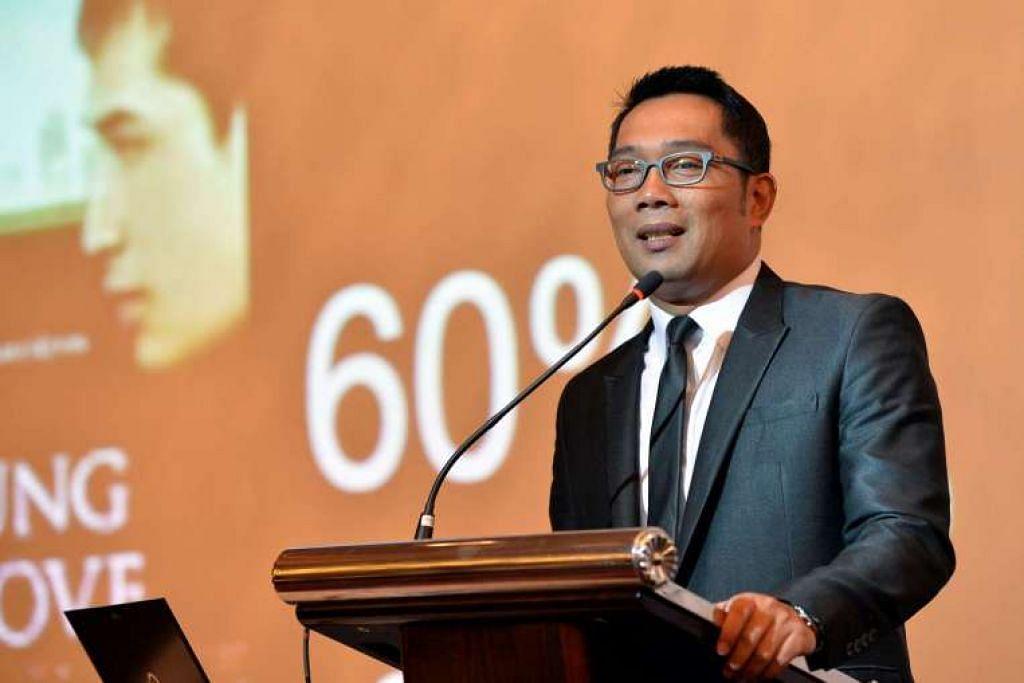 Datuk Bandar Bandung, Encik Ridwan Kamil, berkata acara sembahyang gereja itu sah dari segi undang-undang.