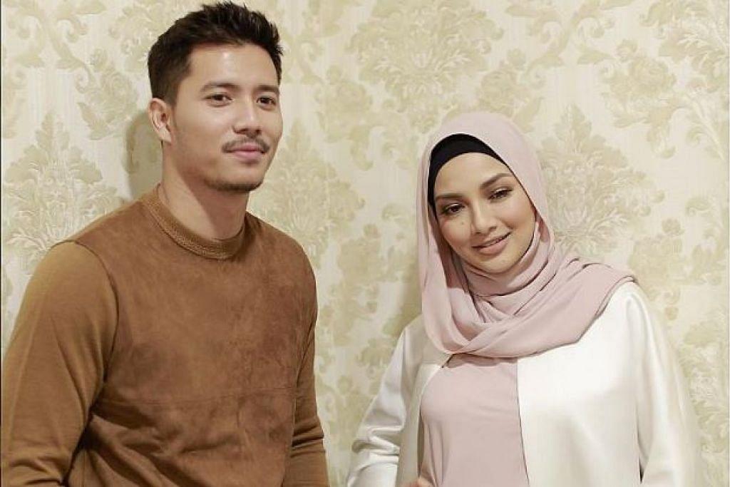 HUBUNGAN RETAK?: Fattah Amin dan Neelofa dikaitkan mempunyai hubungan cinta selepas mereka berlakon dalam drama bersiri Suri Hati Mr. Pilot. - Foto INSTAGRAM