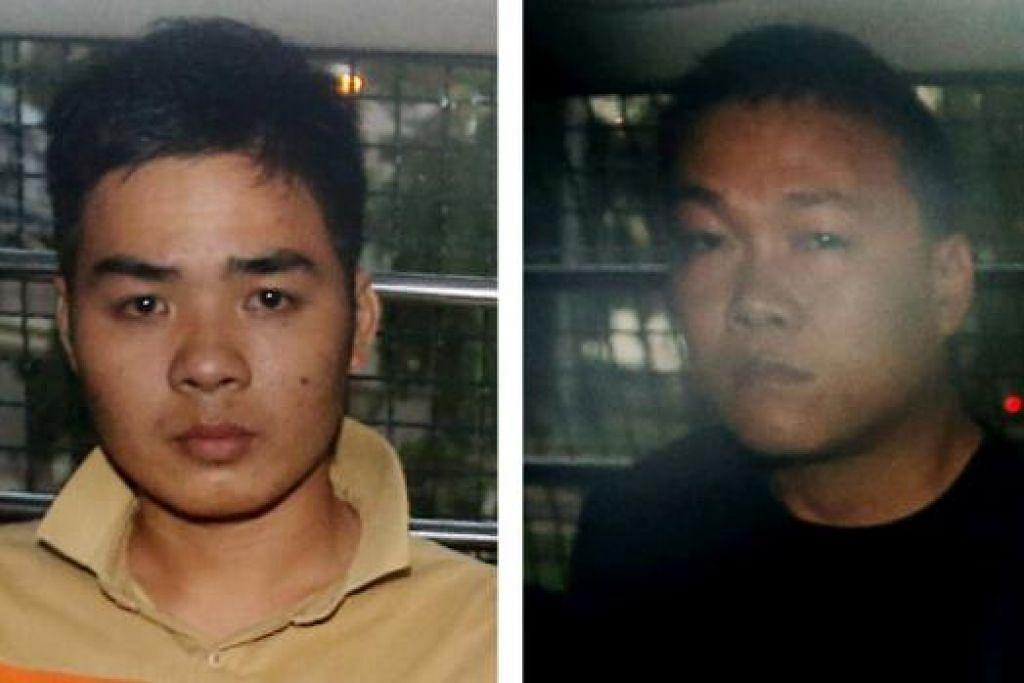 NGUYEN VAN NHAT (kiri) dan NGO QUANG PHUOC