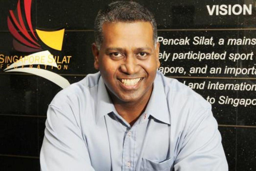 SHEIK ALAU'DDIN: Turut mengetuai Persekutuan Pencak Silat Asia (APSIF). - Foto fail