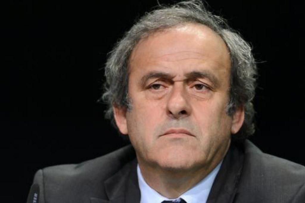 MICHEL PLATINI: Mahu beri tumpuan ke atas usaha 'membersihkan' namanya. - Foto AFP