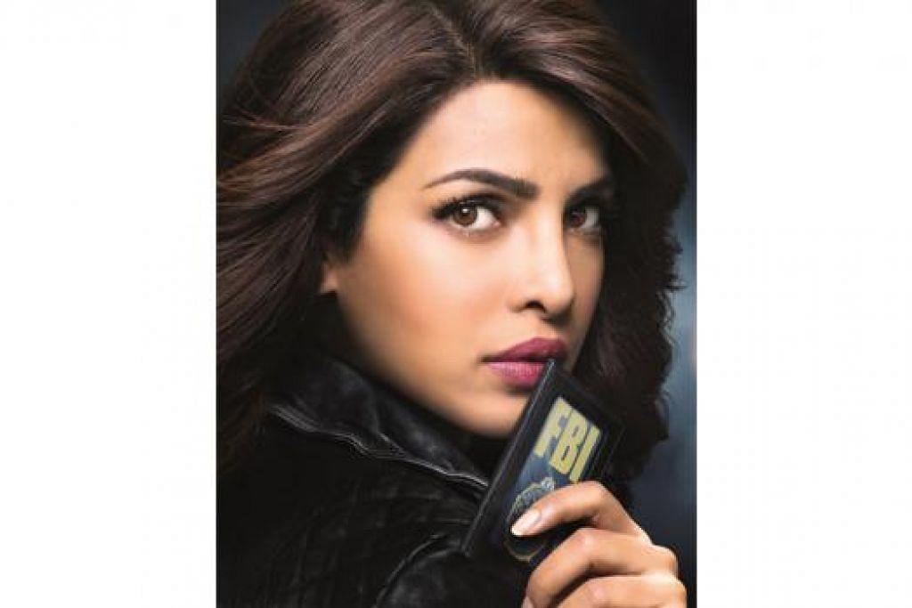 KIAN DIKENALI: Nama dan wajah jelita Priyanka Chopra kian dikenali di Amerika Syarikat hasil penampilannya dalam siri drama televisyen, 'Quantico.' - Foto AXN