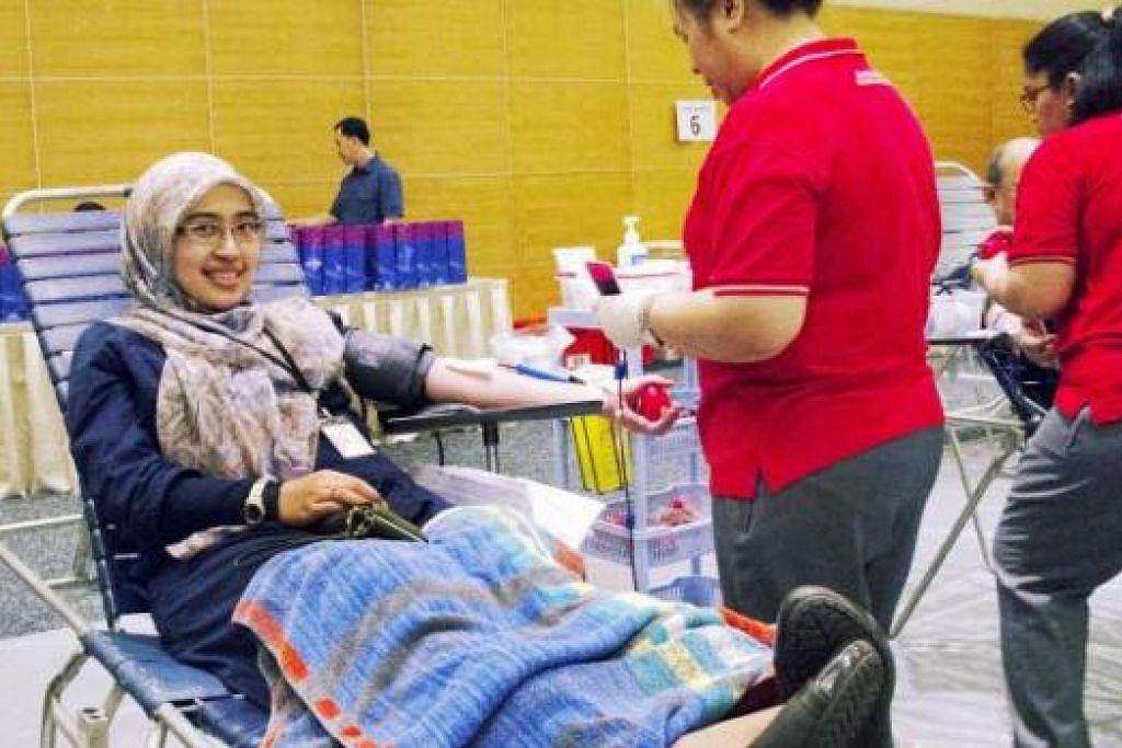 Menderma darah demi berbakti kepada masyarakat