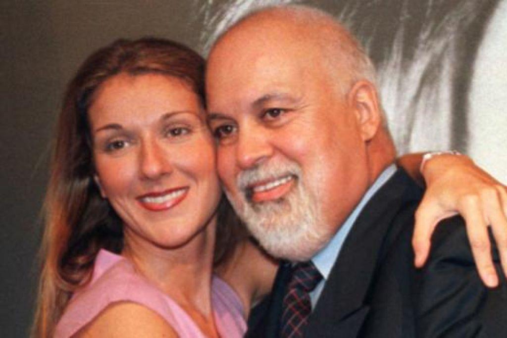 BERKABUNG: Celine Dion mengesahkan kematian suaminya, Rene Angelil (kanan), dalam entri Facebooknya dan ingin mengadakan majlis berkabung secara tertutup. - Foto REUTERS