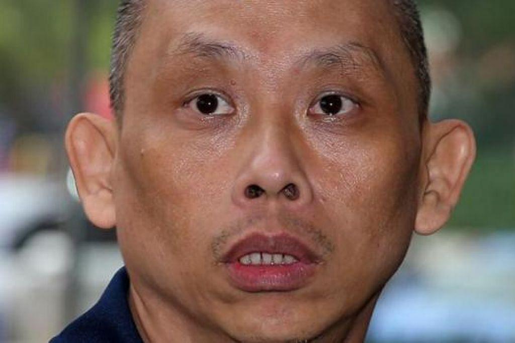 TERLIBAT DALAM KES: Dan Tan Seet Eng dan bekas isterinya Guan Enmei.