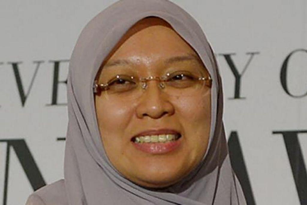 DR INTAN AZURA: Masyarakat Melayu harus menyumbang idea, demi tingkatkan prasarana atau memperkukuh ekonomi.