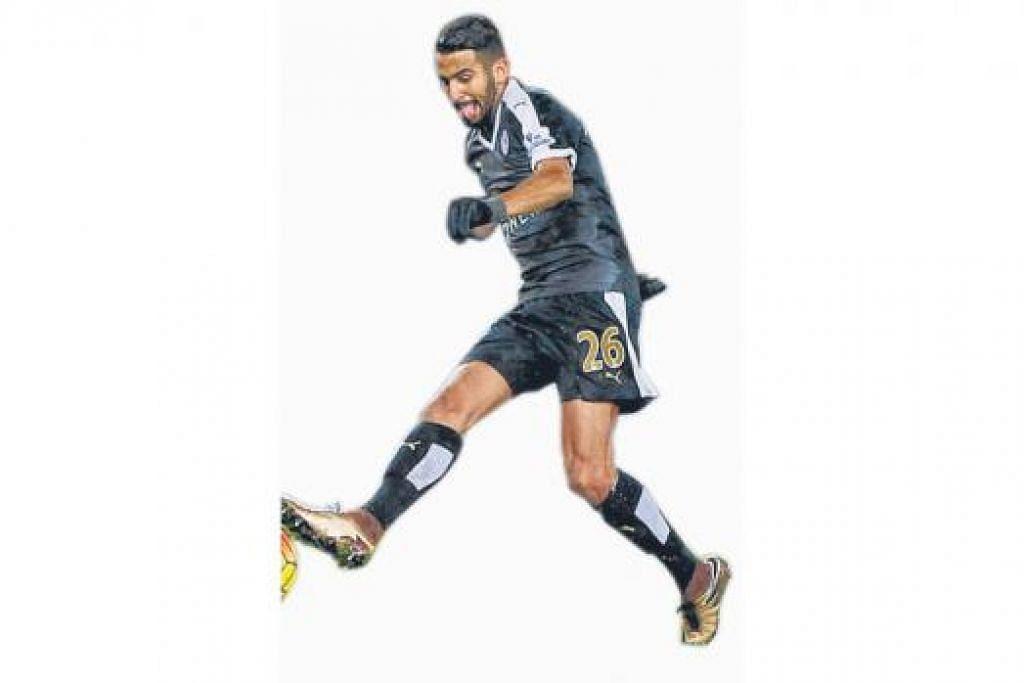 13 Gol: Riyad Mahrez, Leicester City