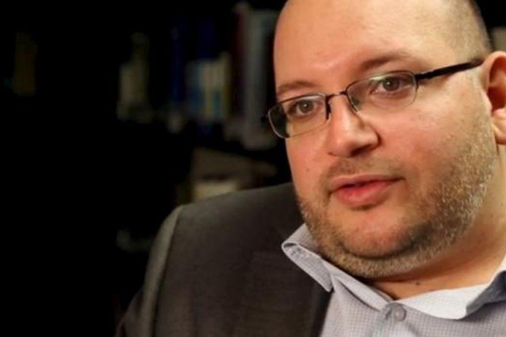ENCIK JASON REZAIAN: Ketua biro akhbar Washington Post di Teheran ini antara tiga rakyat Amerika Syarikat yang dibebaskan Iran semalam. - Foto REUTERS
