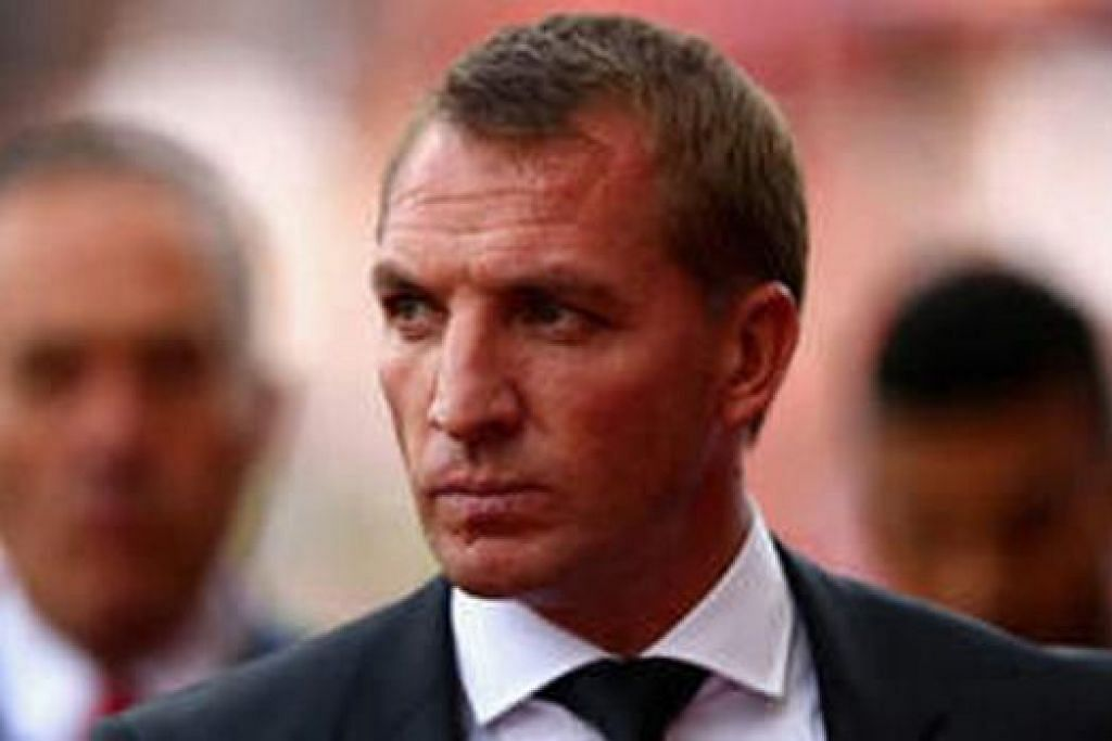 BRENDAN RODGERS: Dipecat Liverpool selepas persembahan kurang konsisten pasukannya tahun lalu. - Foto EXPRESS
