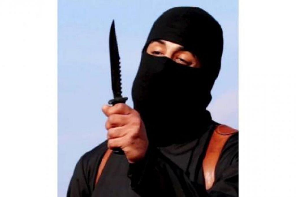 KEJAM: Pemenggal kepala militan IS yang bercakap Inggeris dengan loghat Britain dan dikenali sebagai 'Jihadi John' adalah Mohammed Emwazi yang lahir di Kuwait dan berpindah ke London ketika kecil. - Foto REUTERS
