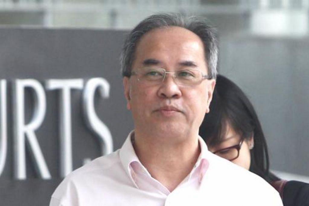 Koh Yong Chiah mengaku bersalah membohongi pegawai kanan MOE tentang hubungan sulitnya dengan pembekal perkhidmatan sekolah yang diberinya kontrak bernilai jutaan dolar. Gambar fail ZAOBAO