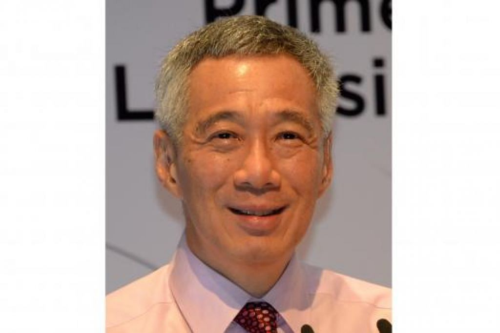 PM LEE: Ucapkan terima kasih kepada rakyat Singapura.